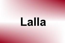 Lalla name image
