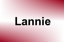 Lannie name image