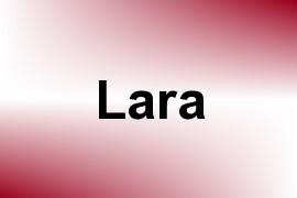 Lara name image