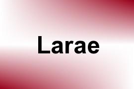 Larae name image