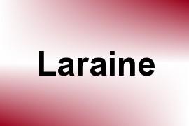 Laraine name image