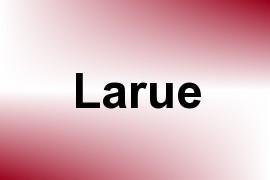 Larue name image