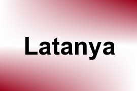 Latanya name image