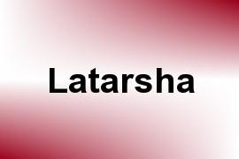 Latarsha name image