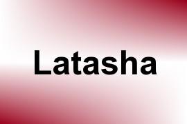 Latasha name image
