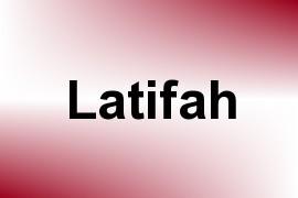 Latifah name image