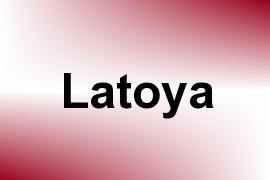 Latoya name image