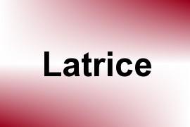 Latrice name image