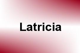 Latricia name image