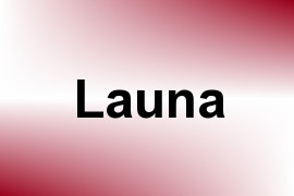 Launa name image