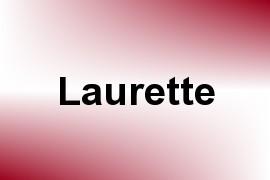 Laurette name image