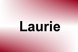 Laurie name image