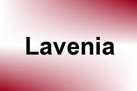 Lavenia name image