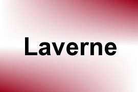 Laverne name image