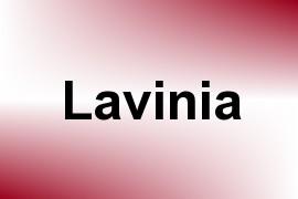 Lavinia name image