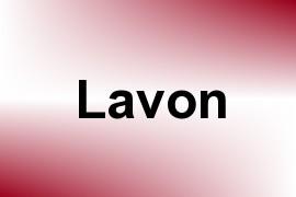 Lavon name image