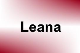 Leana name image