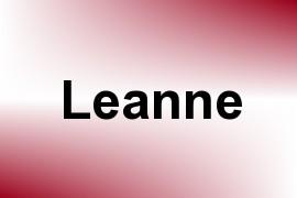 Leanne name image
