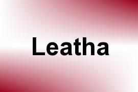 Leatha name image