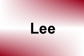 Lee name image