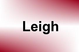 Leigh name image