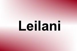 Leilani name image