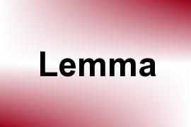 Lemma name image