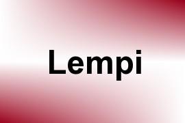 Lempi name image