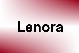 Lenora name image