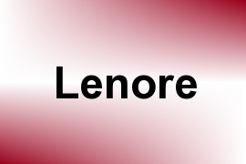 Lenore name image
