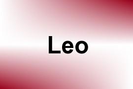 Leo name image