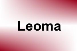 Leoma name image