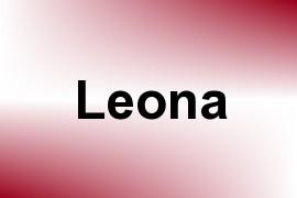 Leona name image