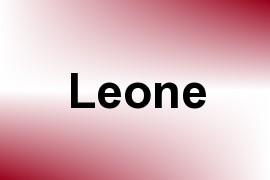 Leone name image