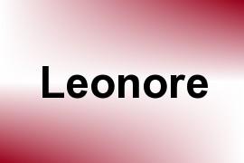 Leonore name image