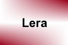 Lera name image