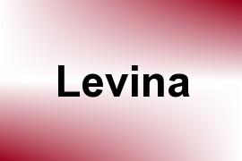 Levina name image