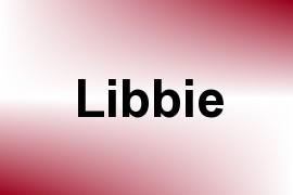 Libbie name image