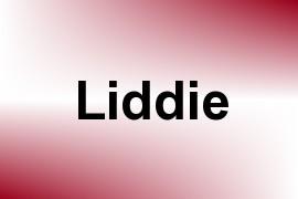 Liddie name image