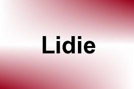 Lidie name image