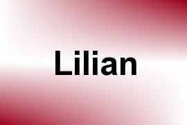 Lilian name image