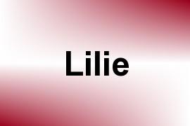 Lilie name image