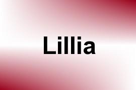 Lillia name image