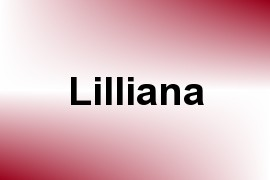 Lilliana name image