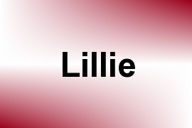 Lillie name image