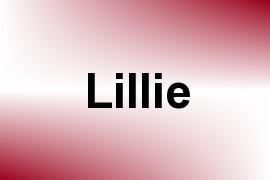 Lillie name image