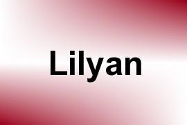 Lilyan name image