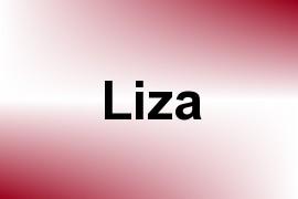 Liza name image