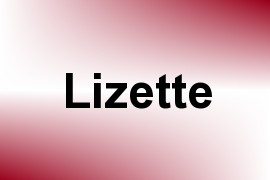 Lizette name image