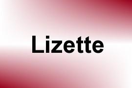 Lizette name image